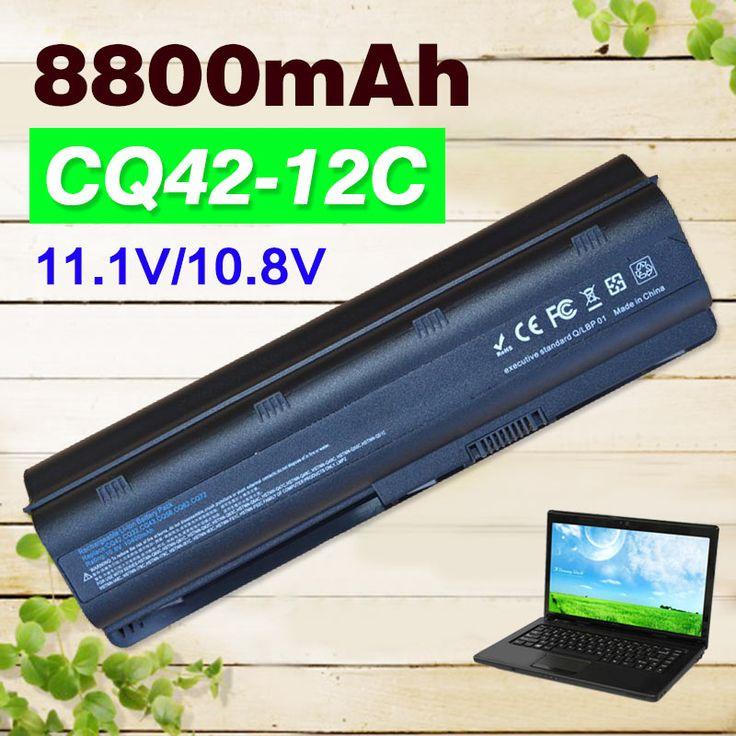 8800mAh 12 cell battery for HP PAVILION DM4 DV3  DV5 DV6 DV7 G32 G42 G62 G6 for Compaq Presario CQ32 CQ42 CQ43 CQ56 CQ57 CQ62 #Affiliate