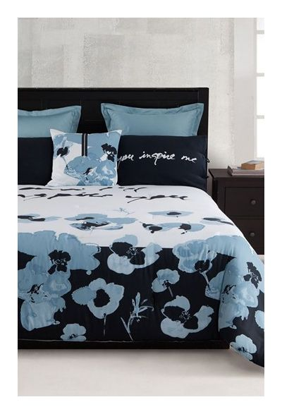 kensie 'Blue Poppy' Comforter (Online Only) - was $159.99, now $106.9 (33% Off). Picked by amyb @ Nordstrom