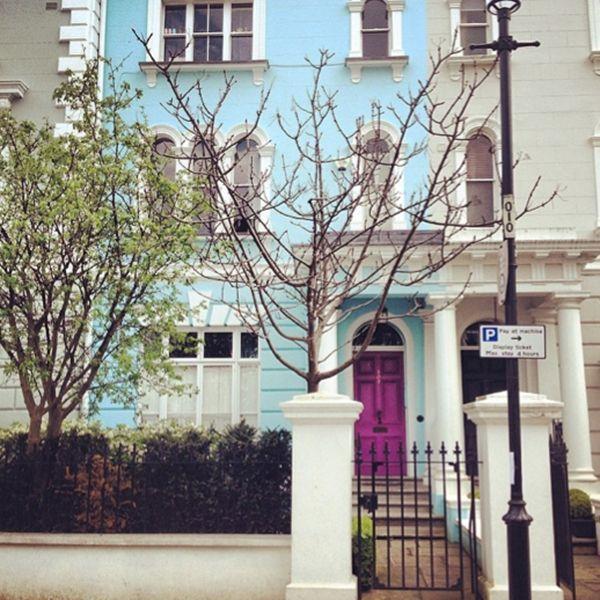 Noting Hill London facade