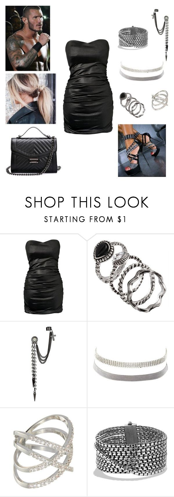 """""""Randy Orton: you're being trained by Stephanie MacMahon"""" by dpclma ❤ liked on Polyvore featuring Te Amo, Charlotte Russe, Styled By Q, David Yurman and WWE"""