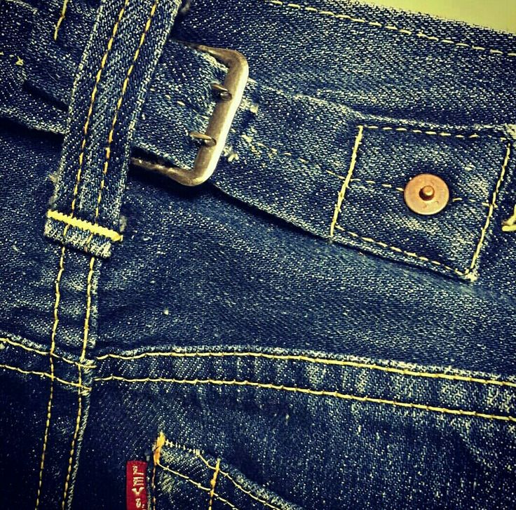 Vtg 1937 Levi's 501XX buckle back