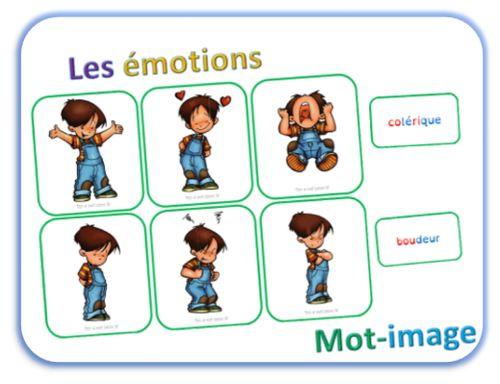 La roue des émotions - Les images-mots | dys é moi zazou | Bloglovin'