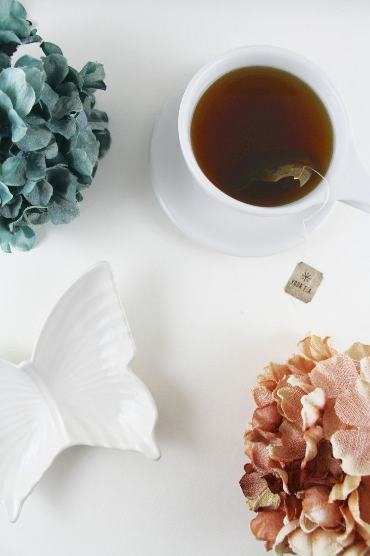 Starting the morning with Your Tea helps with indigestion and mood//
