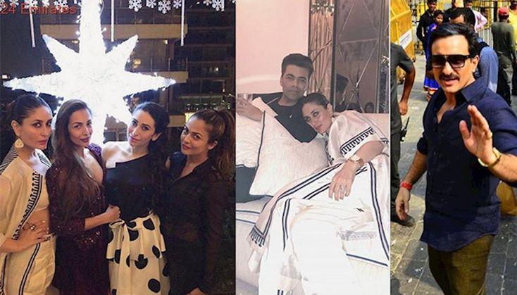 Spotted: Kareena Kapoor, Malaika Arora, Karan Johar...