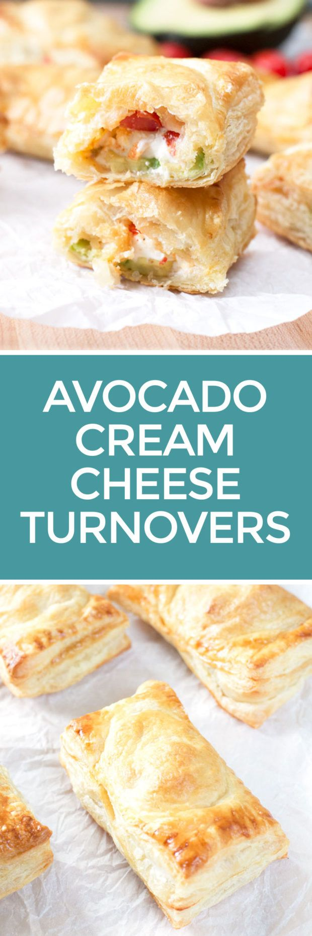 Avocado Cream Cheese Turnovers – Cake 'n Knife