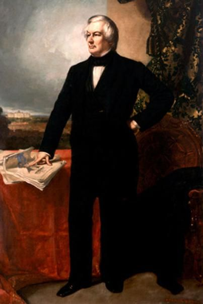 Official White House Portrait of Millard Fillmore - 13th President of the United States
