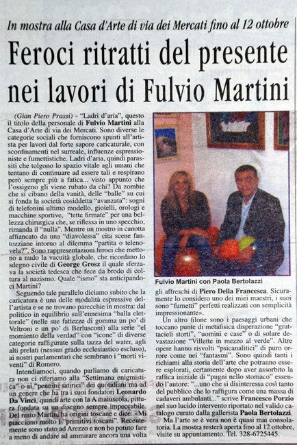 Personale LADRI D'ARIA Ottobre 2008  Galleria Casa d'Arte  Vercelli