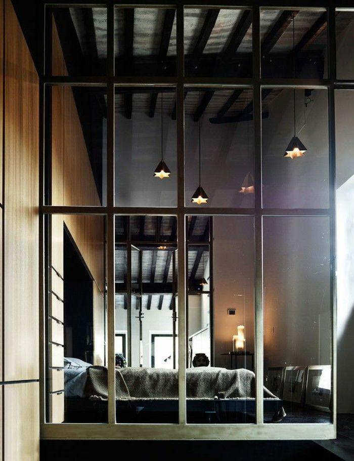 Las 25 mejores ideas sobre cloison en verre en pinterest for Cloison type industriel