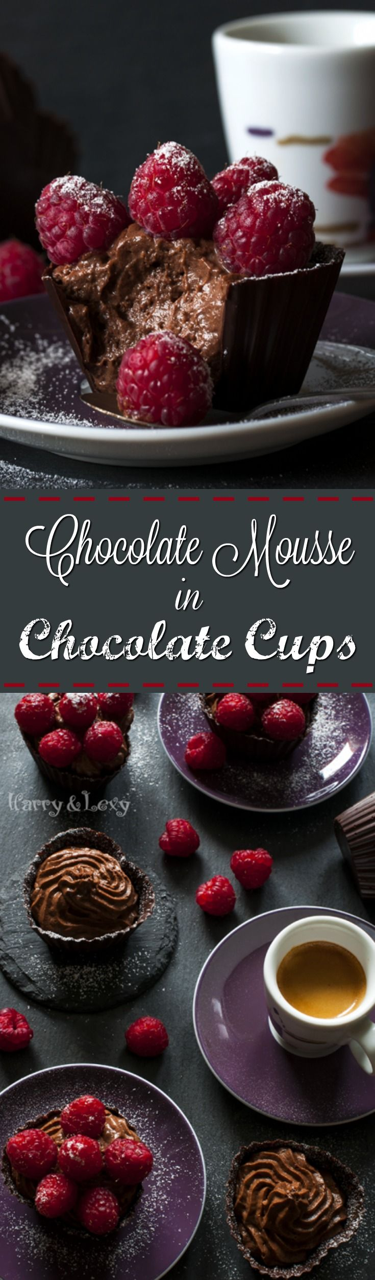 This incredible Chocolate Mousse in a Chocolate Cup is one of the most heavenly desserts you can ever try.
