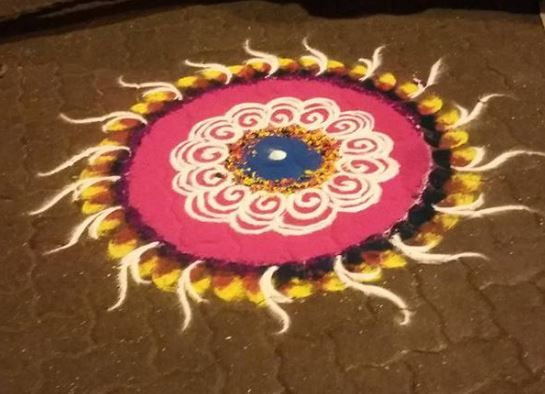 Discover beautiful Indian rangoli and kolam designs. Rangoli is an art form from India in which patterns are made on the floor to welcome positive energy.