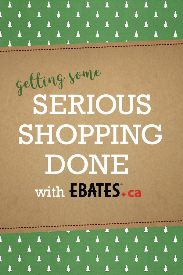 Who else is getting some serious shopping done this week! So many sweet deals that are too good to miss with Ebates.ca during Boxing Week! #EbatesCABoxingDay