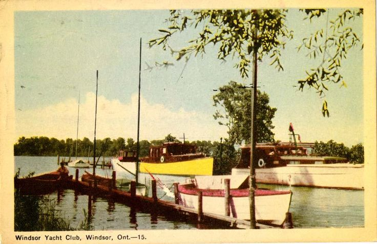Windsor Yacht Club circa 1948