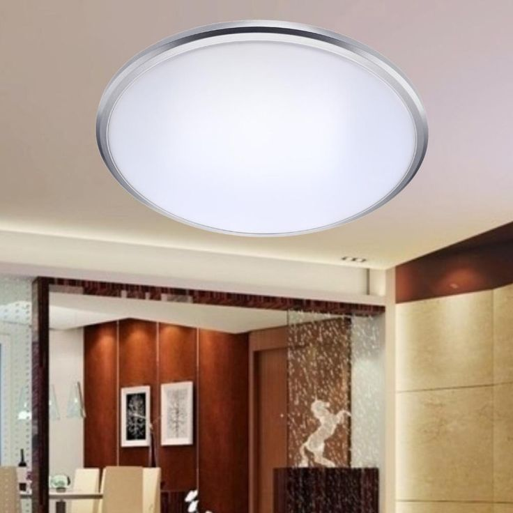 2017 Ceiling Lights LED Lamp Diameter 27cm Acryli Panel Aluminum Frame Edge  Indoor Lighting Bedroom Living