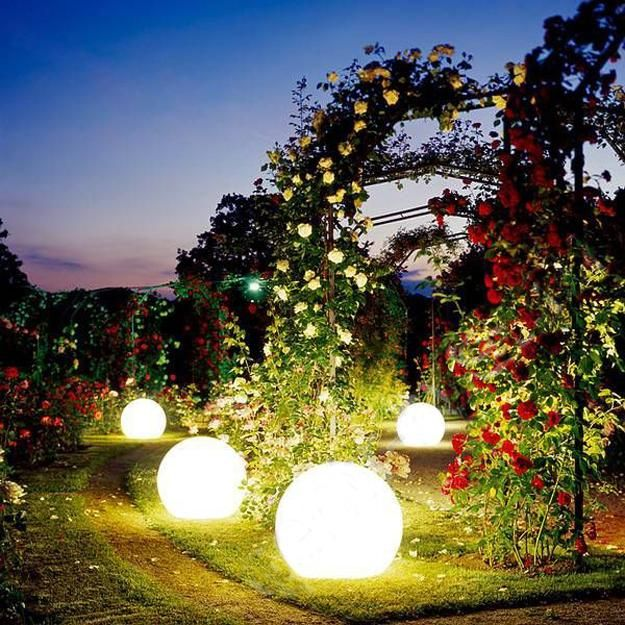 63 best outdoor lighting images on pinterest gardening outdoor 33 gorgeous globe lighting ideas for interior decorating and backyard landscaping aloadofball Gallery