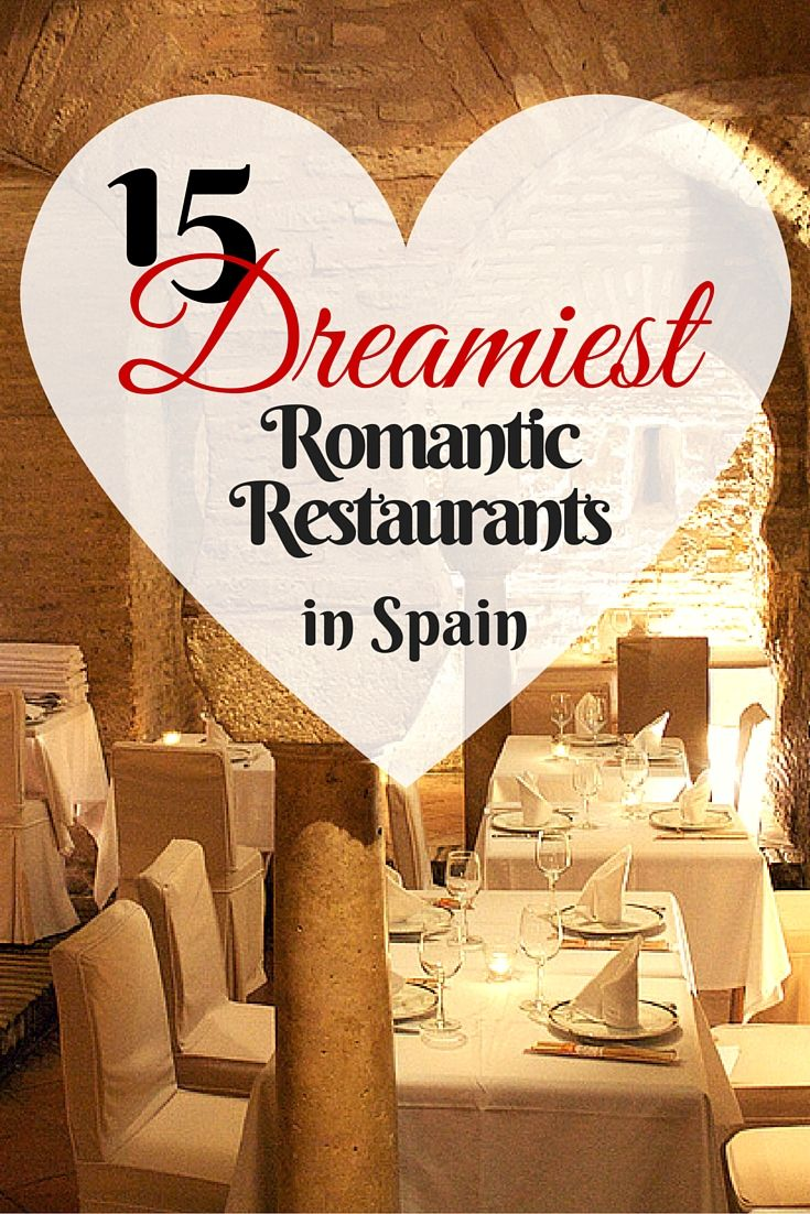 Antique train cars, indoor orchid jungles, seaside sunset terraces… the romance of eating in Spain is enough to make anyone fall in love! These 15 restaurants scattered throughout Madrid, Barcelona, Seville and other Spanish cities are all excellent choices to celebrate Valentine's Day.