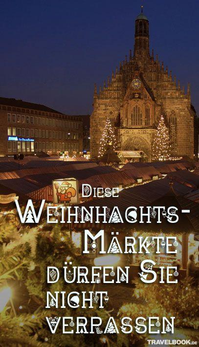 Gebrannte Mandeln, Glühwein und Geschenke für sich selbst oder die Liebsten: Bald ist endlich wieder Weihnachtsmarktzeit! Von Rostock bis München – TRAVELBOOK stellt 17 Märkte in Deutschland vor, die man sich auf keinen Fall entgehen lassen sollte.