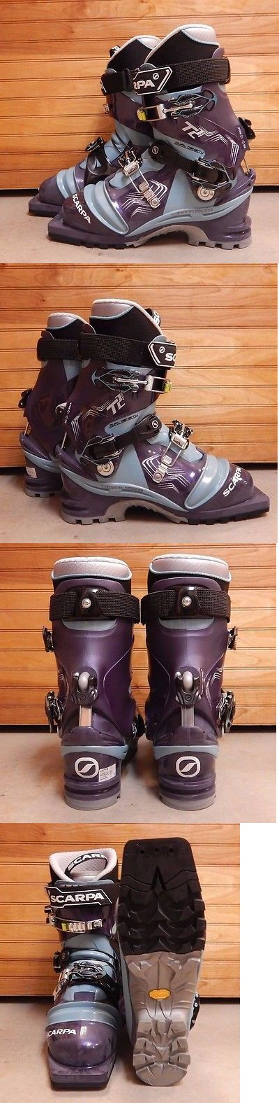 Ski Touring 104636: Scarpa Women S T2 Eco Ski Boot Size: 24.5 Color: Bg Pg Style#12211502 -> BUY IT NOW ONLY: $419.97 on eBay!