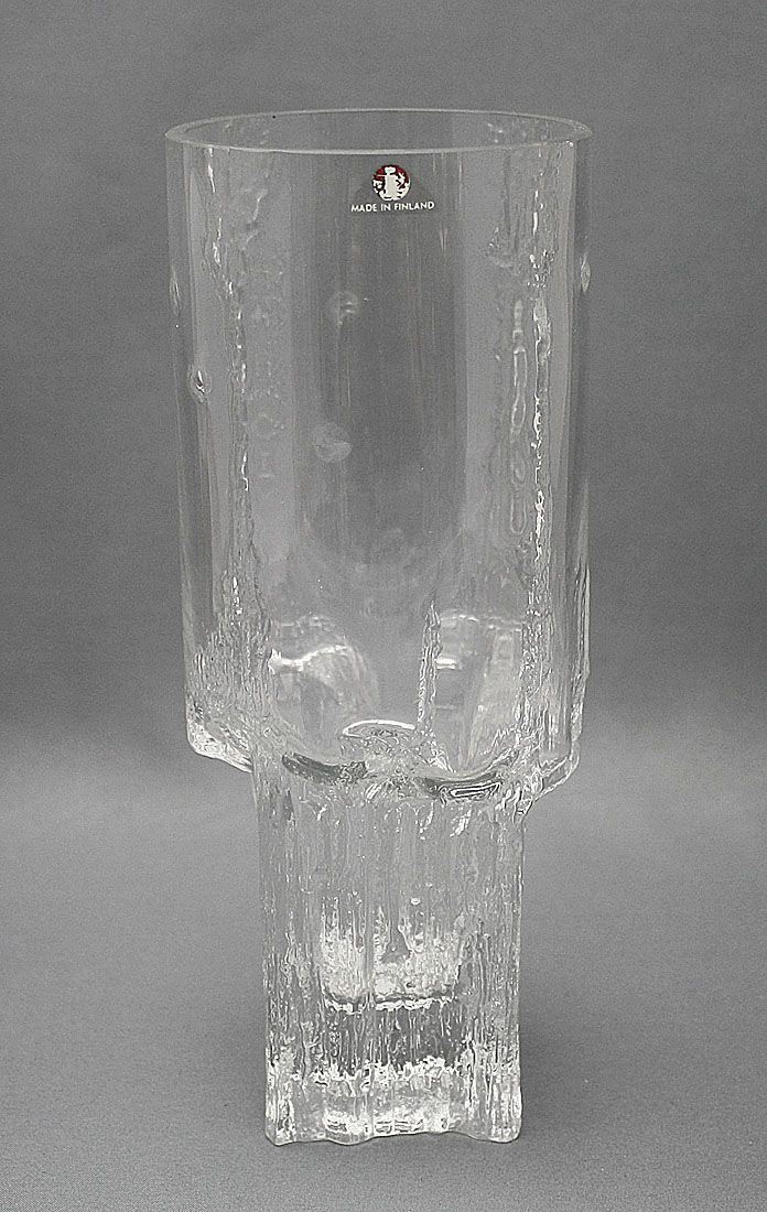 Glass vase, Minerva, Tapio Wirkkala