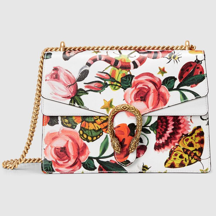 Gucci Women - Gucci Garden exclusive Dionysus shoulder bag - 400235DMY1E9264
