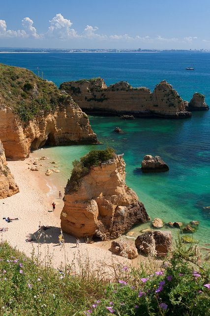 Praia de Dona Ana, Algarve Coast, Portugal: Algarve Coast, Beautiful Places, Bi Rottab, Travel, Portugal Bi, Ana Beaches, Secluded Beaches, The Beaches, Algarv Portugal