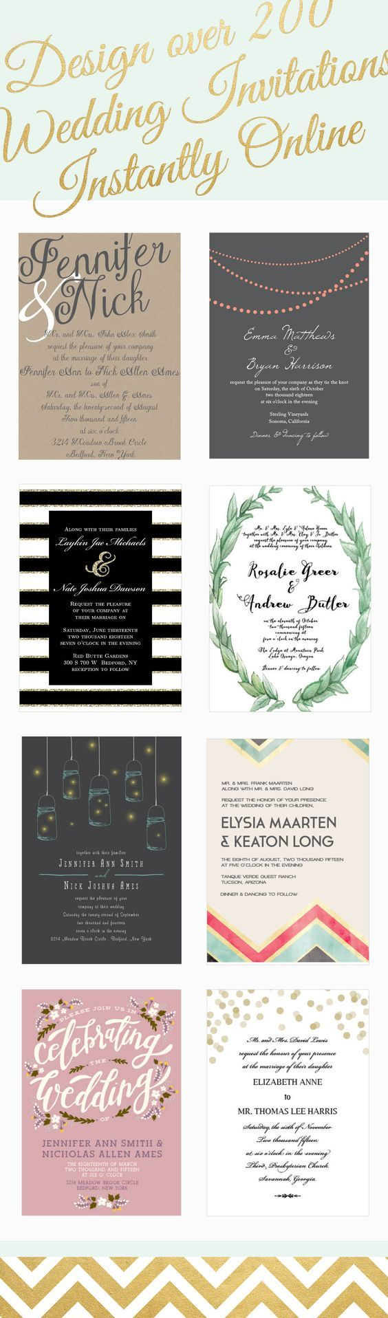 8 best wedding images on Pinterest | Invitations, Wedding stationary ...