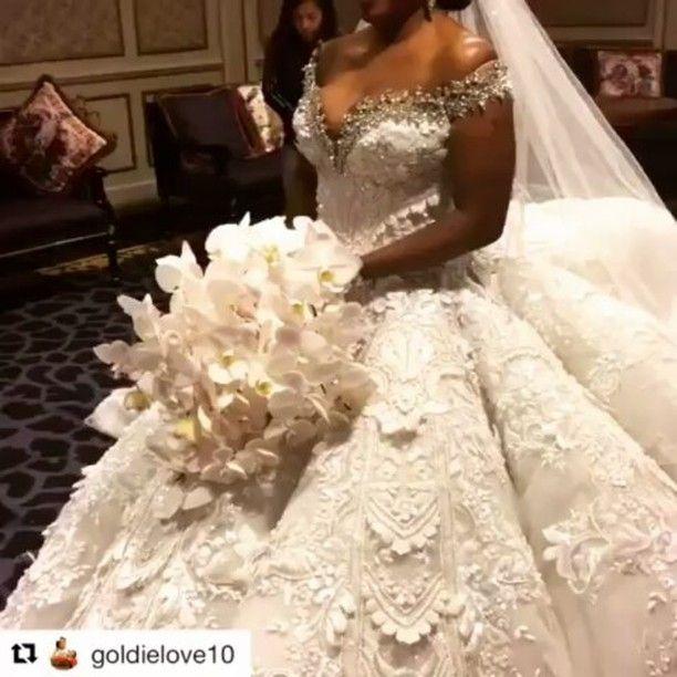 Wow! That is one stunning dress  Via @goldielove10  Cc @Asoebiworld #africaweddingvendors #wedding #weddingdresses #weddingdress  #weddinggown #weddingday #weddingphotography #bride #bridetobe #bridal #balldress #bridaldress #bridalinspiration #weddinginspiration #bridallook #bridalaccessories #photoadaychallenge #bridalfashion #gown #bridalinspiration  #weddings #weddingdress #weddinggown #wedding #weddingday #weddingphoto #photography #weddingideas #weddingphoto #wedding planning…