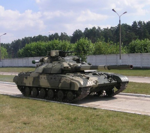 T-64 BM Tank (Ukraine). A modernized Russian tank