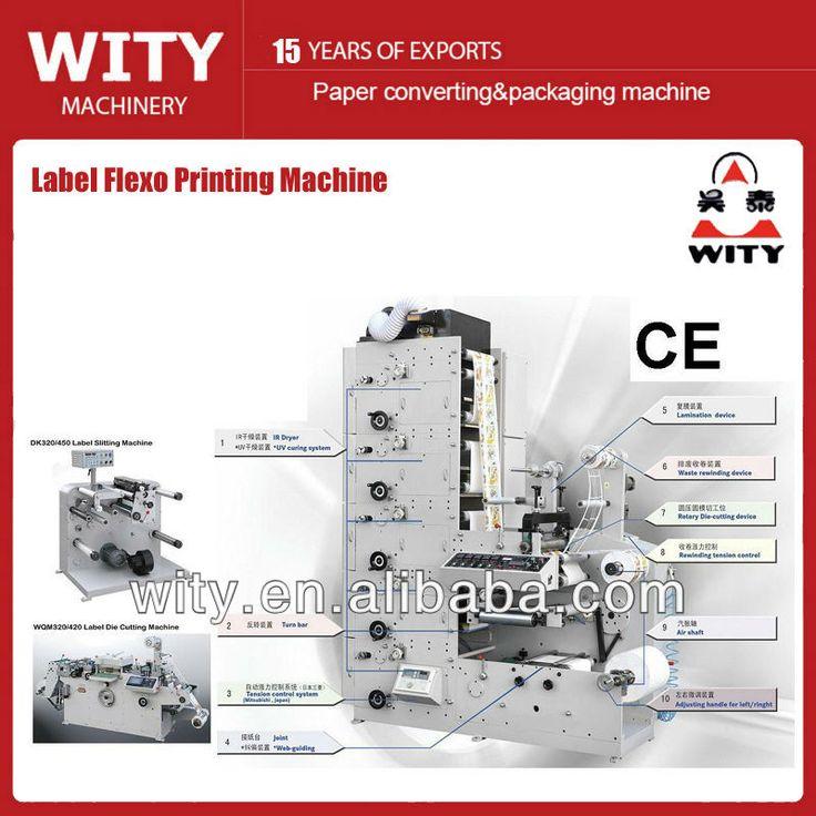 ZBS-320B label flexo Printing Machine $20000~$50000