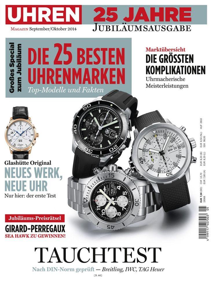 Uhren-Magazin 5/2014 | UHREN-MAGAZIN | Pinterest