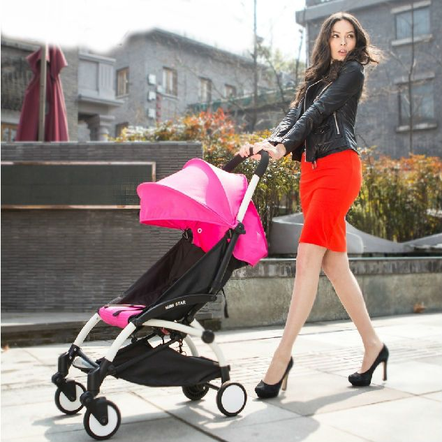 Walk in style when you go with baby using our pram & strollers.