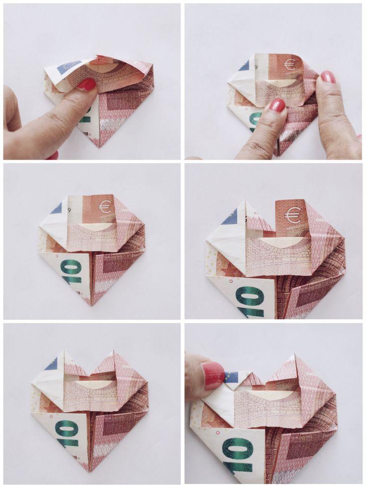 DIY Geldgeschenk selber machen – Geld kreativ verschenken