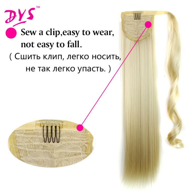 Deyngs Straight Ponytail Hairpieces For Hair Tails With Hairpins False Synthetic Hair Pony Tail Hair Extensions. Click visit to buy #SyntheticExtensions