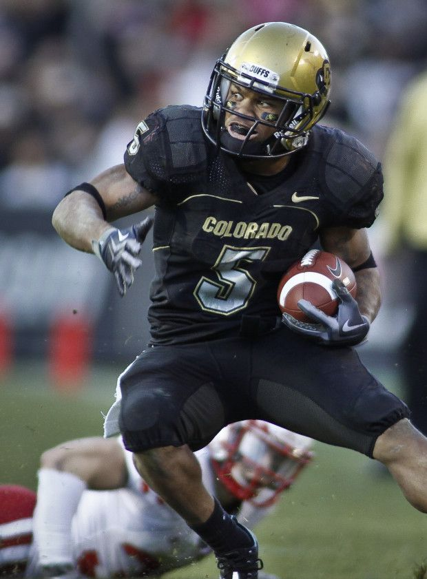 Colorado Buffaloes football uniforms