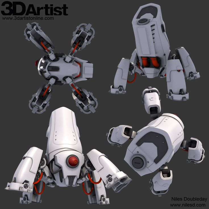 ArtStation - Carrier-bot, Niles Doubleday