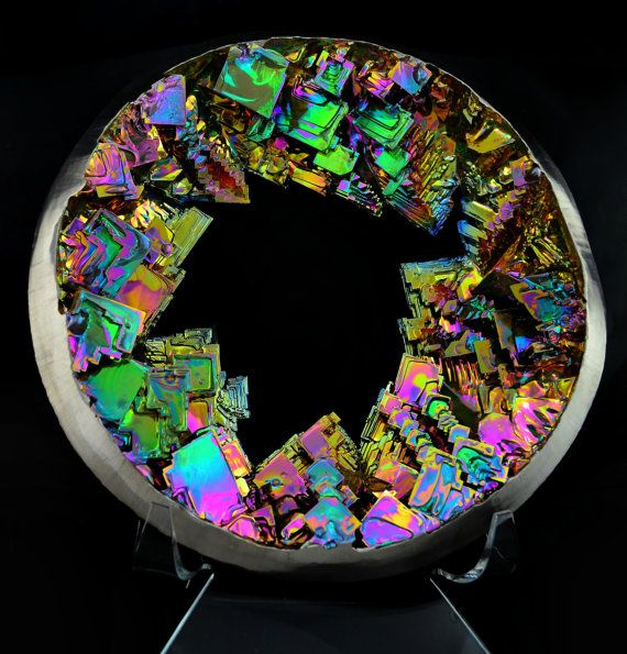 Aperture 20 OFF  Large Bismuth Metal Crystal par Element83 sur Etsy, $1880.00