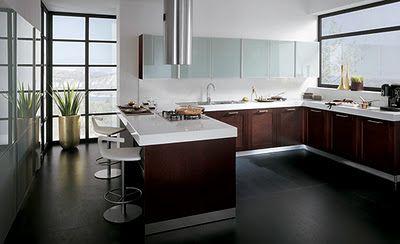 Im genes de cocinas integrales modernas color chocolate - Fotos cocinas modernas ...