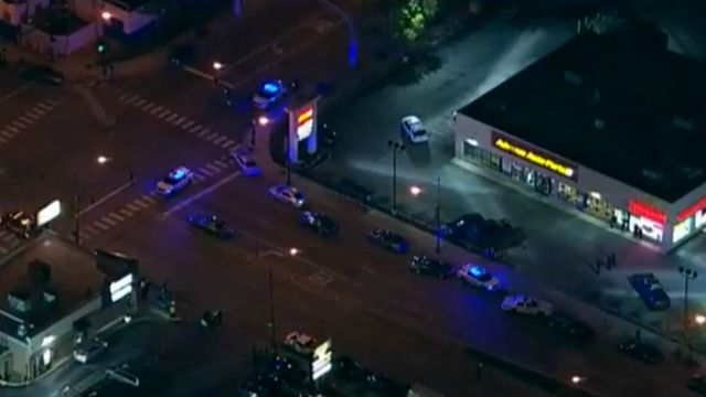At least one Chicago police officer was shot Tuesday night near43rdand Ashland, according to reports.