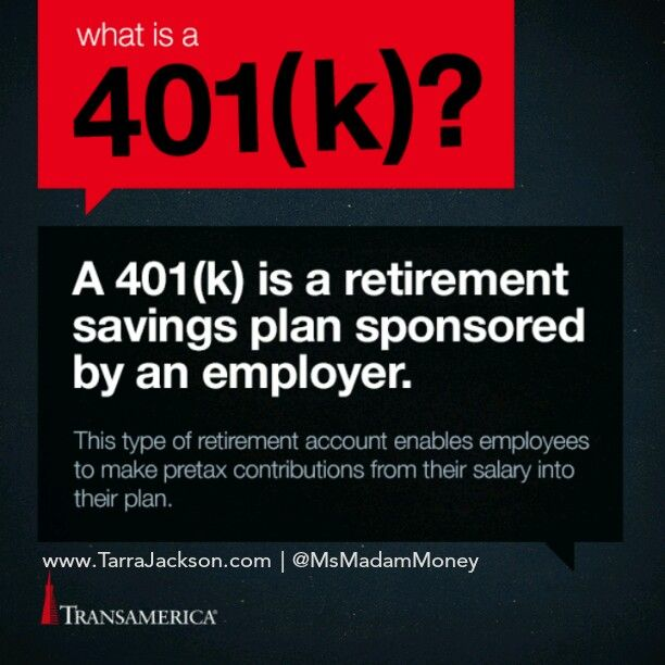 Happy National #Save4RetirementWeek #NS4RW  Most employers offer an Employer Sponsored #Retirement #Savings Plan like a 401k / 403b / 457 Plans. These plans replace the company's pension program for most employers.   Take advantage of this tax deferred retirement savings program IF and UP TO your employer's match.  If you need help with your Retirement Savings Plan, go to www.TarraJackson.com to schedule a Complimentary Consultation.