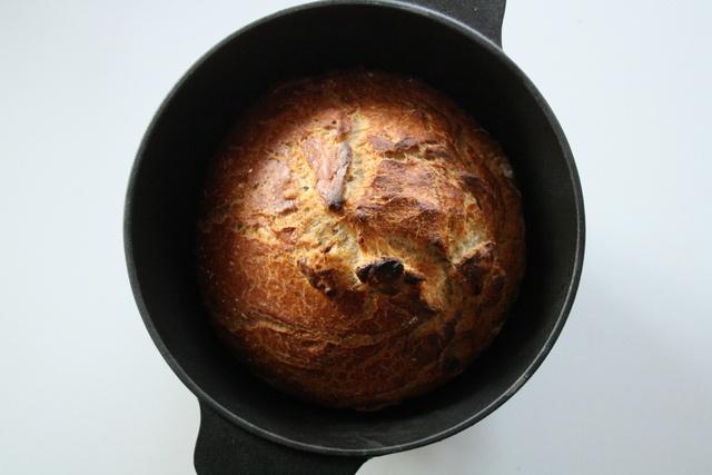 Lyst brød med surdej