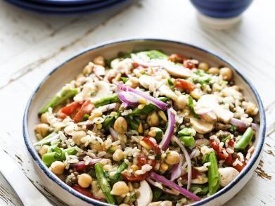 Salande van linzen, kikkererwten en groenten (Libelle Lekker!)