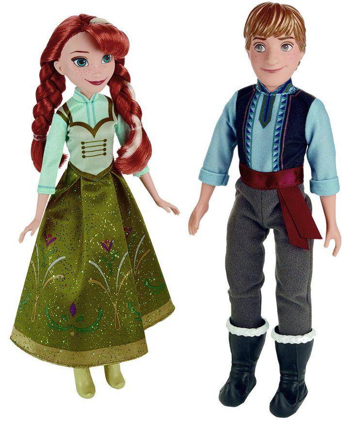 Disney Frozen Anna & Kristoff Eiskönigin Elsa Schneekönigin Puppe Spiel Figur