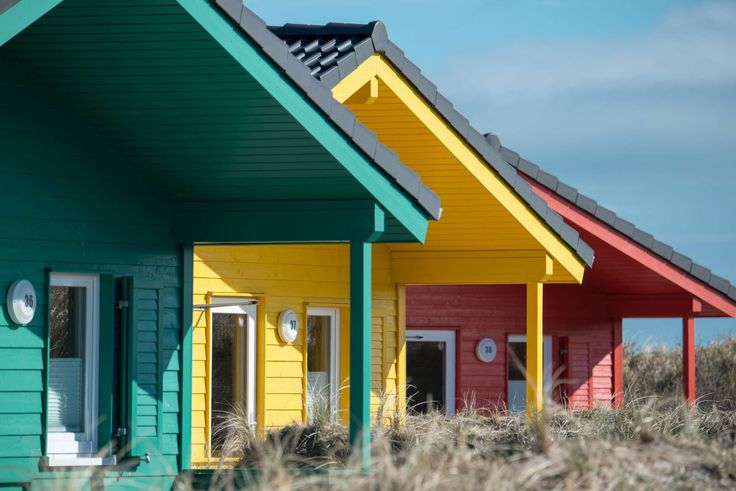 #color #colorful #country houses #dune #green #helgoland #money #red #roofs #vacation #wooden houses