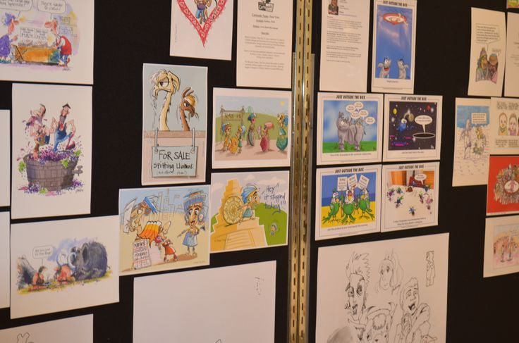 Cartoonists show their handiwork at the Hungry For Art Festival in Top Ryde City. #Cartoon #Cartoonist #Art #HungryForArt #Event #Ryde #TopRyde #TopRydeCity #CityofRyde