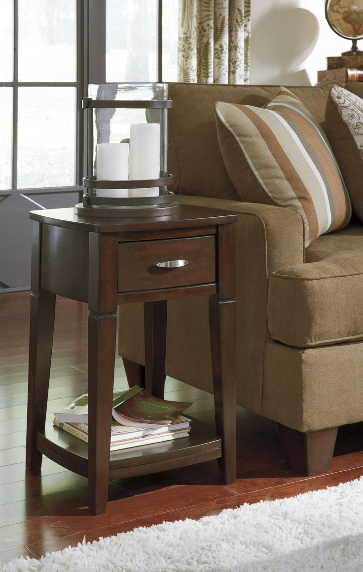 living room decor dinelli end table by ashley furniture