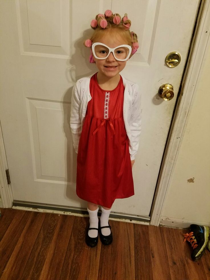 Old lady costume, 100 days of school