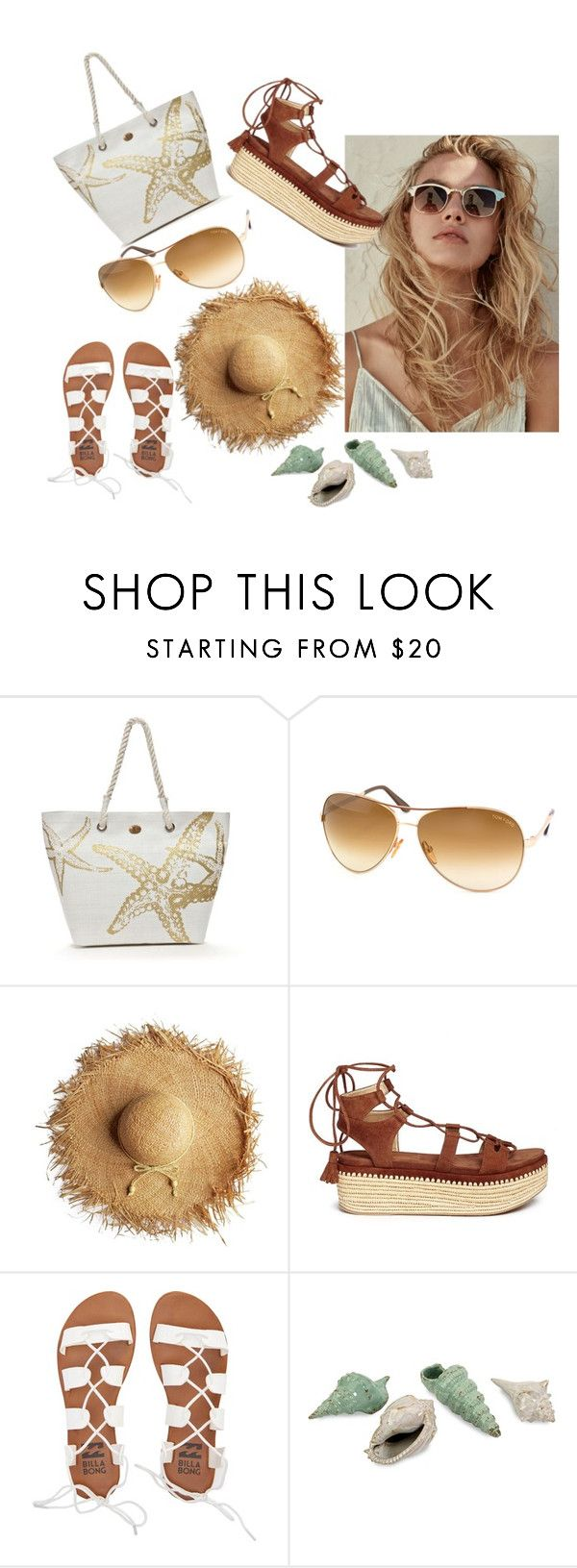 """""""be"""" by gloria-manriquez on Polyvore featuring moda, Kim Rogers, Tom Ford, Stuart Weitzman y Billabong"""