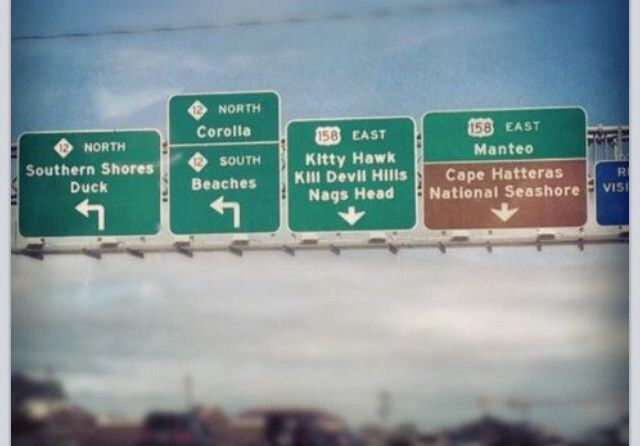 OBX: One of my favorite signs in the world.