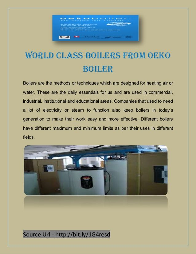Boilers are the methods or techniques which are designed for heating air or water. These are the daily essentials for us and are used in commercial, industrial, institutional and educational areas.