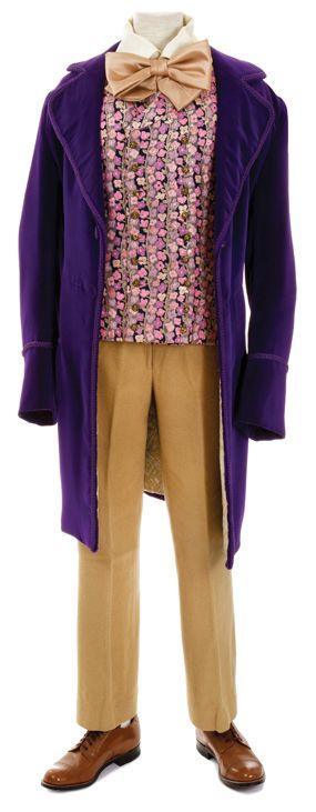 "Lot 355: Gene Wilder ""Willy Wonka"" signature costume from  Willy Wonka & the Chocolate Factory. (Paramount, 1971)"