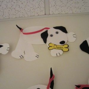 Party Idea: Fire Truck Activity Stations, Pin the Dots on the Dalmatian (2)